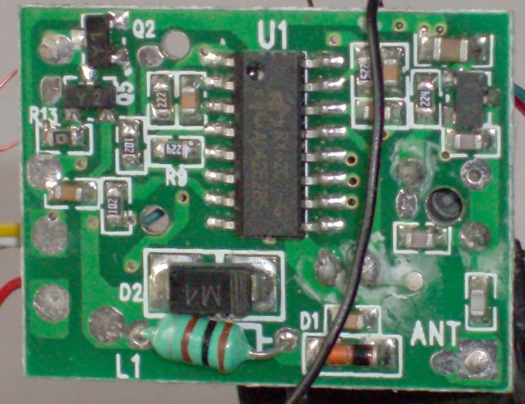 Схемы радиомоделей
